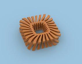 3D printable model Wired Headphones Clip