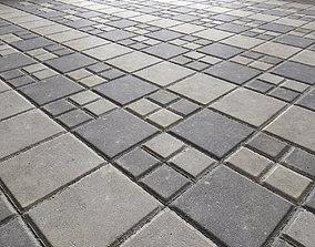 Paving slabs Floor 014 3D asset