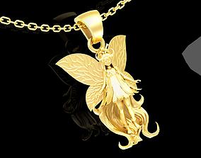 Mana Faerie Sculpture pendant jewelry 3D printable model 1