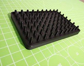 Green soap dish 3D printable model
