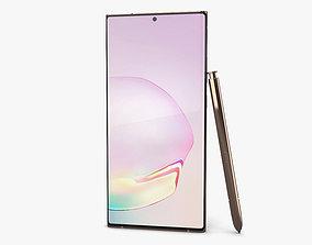 Samsung Galaxy Note 20 Ultra Mystic Bronze 3D