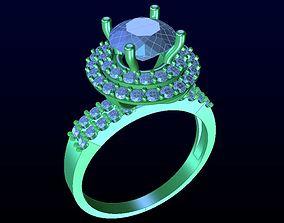 DIAMOND JEWELLERY rings 3D print model