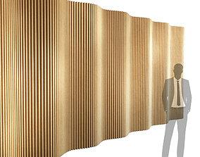 3D model Parametric wall 007