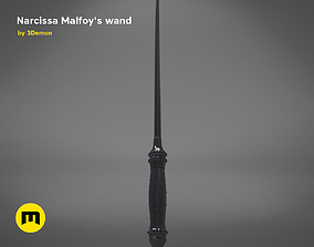 3D print model Wand of Narcissa Malfoy