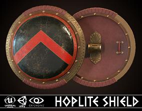 3D model Hoplite Shield Sparta 3