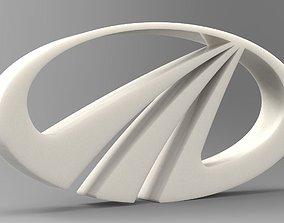 3D print model logos - mahindra