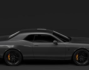 3D model Dodge Challenger SRT Hellcat 2020