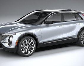 Cadillac Lyriq 2023 3D model