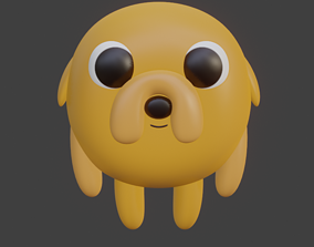 3D printable model Jake The Dog From Adventure time