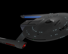 3D model Detroyat-Class Destroyer Mark-2