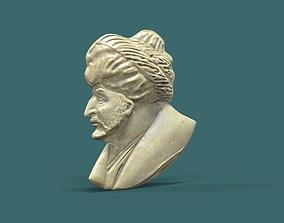 Medal Sultan Mehmed II 3D print model
