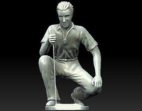 Golf statue 3D print model