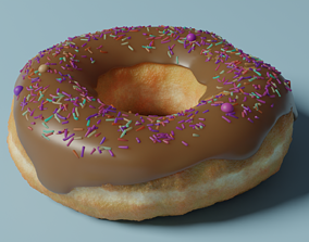 Donut 3D pastry