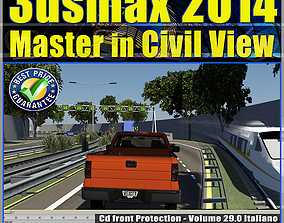 animated 3ds max 2014 Master in Civil View vol 29 cd