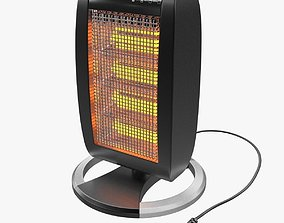 3D model Halogen Heater