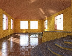 Mansion with indoor Pool 3D model