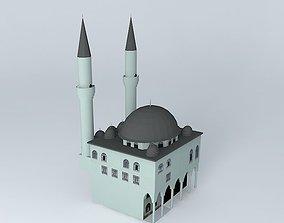 3D model The mosque