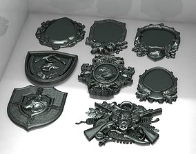 3D print model framing Decorative frames