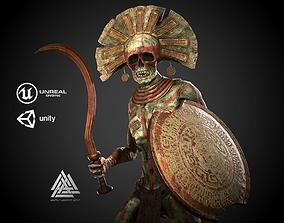 Ancient Undead Warrior 3D model