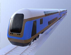 3D model Bombardier Train