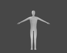 Character Lowpoly for Games 3D model