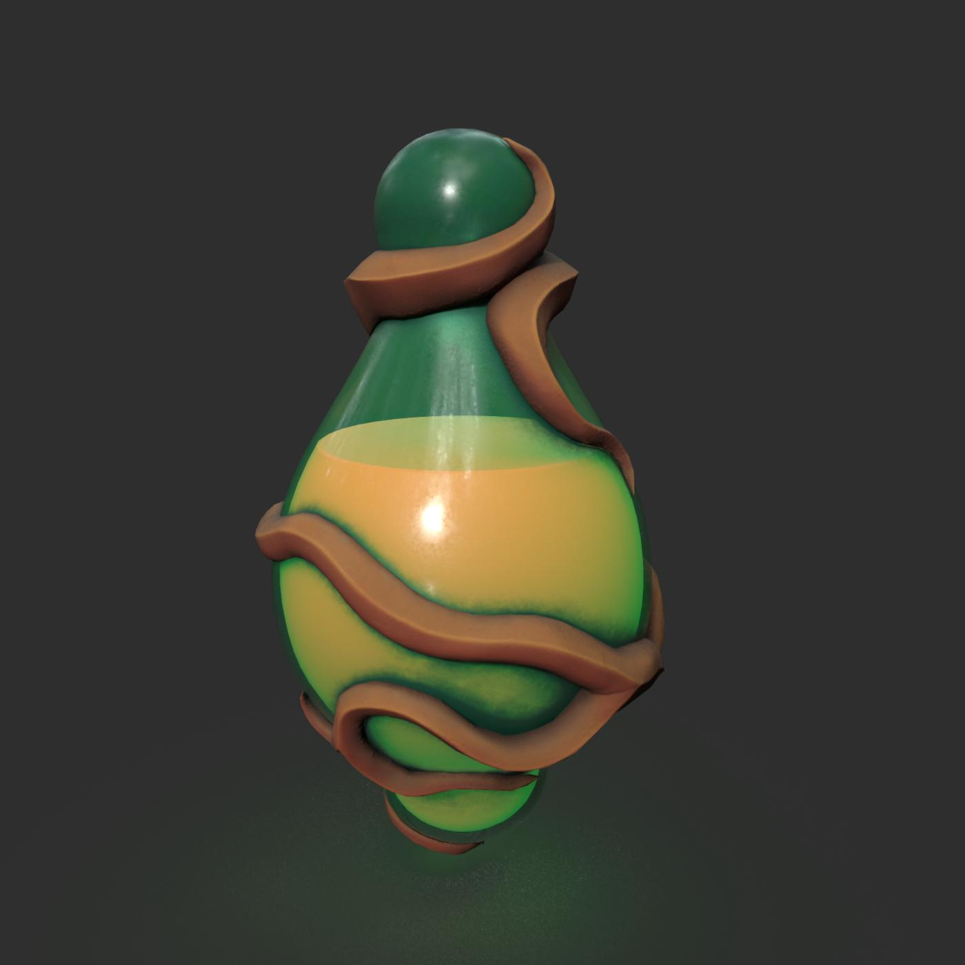 Stylized Potions Flask