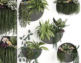 Green wall decor vertical garden 56 3D