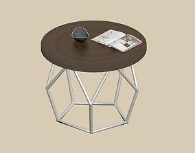 3D model Table pentagon