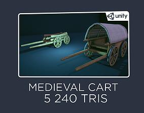 3D model Cart - Medieval