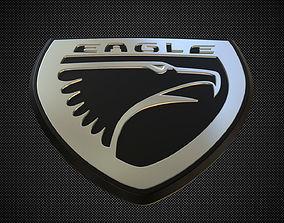 eagle logo transport 3D