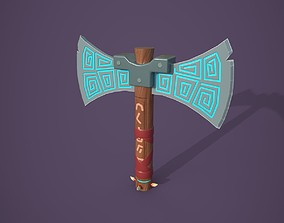 3D enchanted powerful AXE