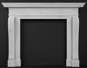 Georgian Style Fireplace Mantel 3D model