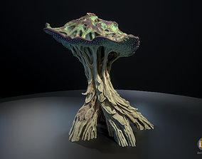 3D model Alien Plant Mushroom Type2