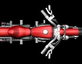 Harley Davidson Bike 3D print model