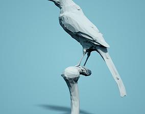 Low Poly Bird Model animal figurines