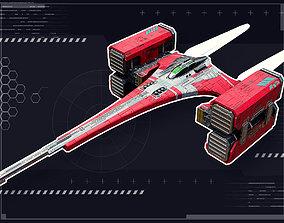 Stellar Falcon 3D asset