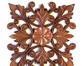 3D model Ornament wood