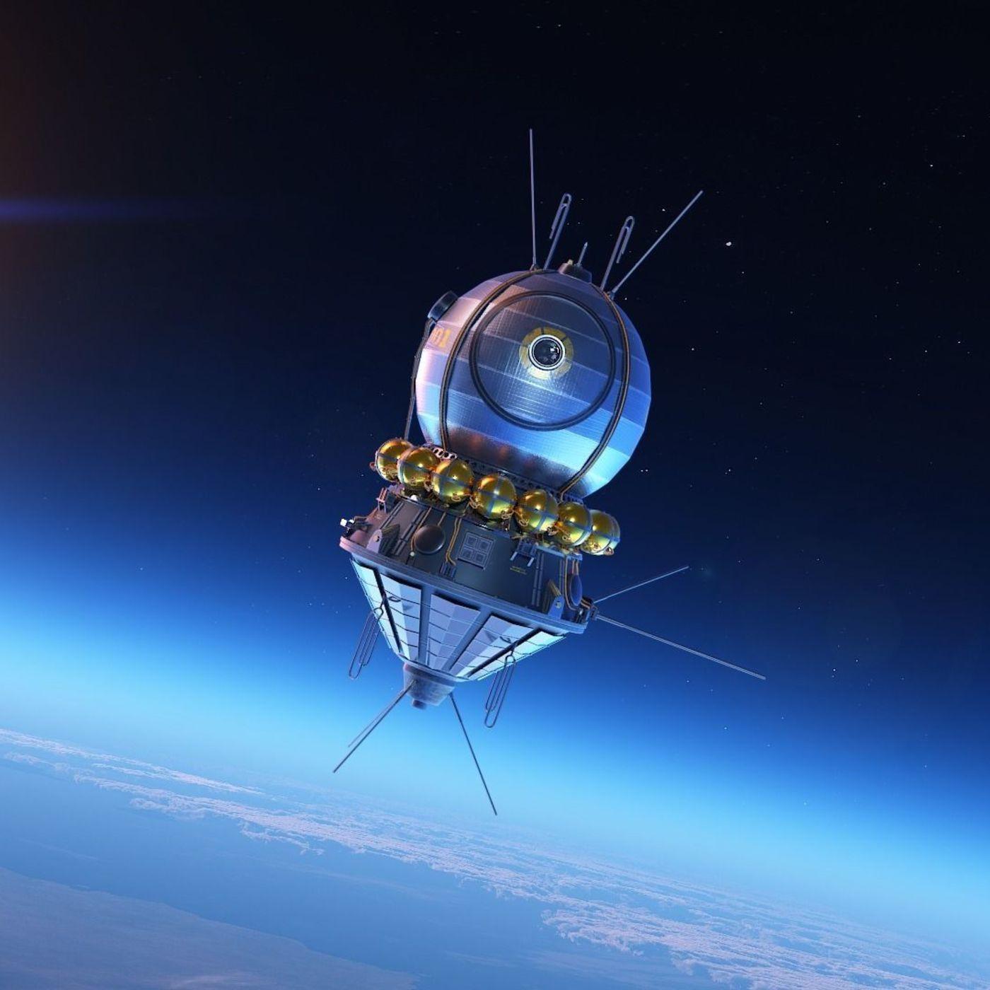 "Soviet Satellite ""VOSTOK - 1"" Special Project"