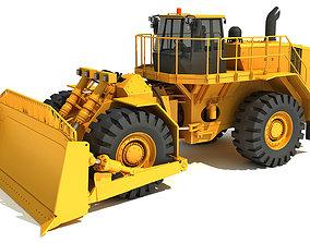 3D Bulldozer track