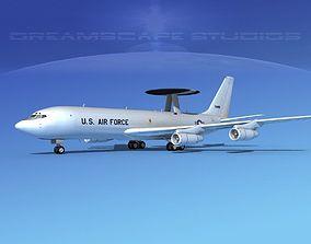 Boeing E-3B Sentry USAF 2 3D model