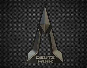 deutz fahr logo 3D model