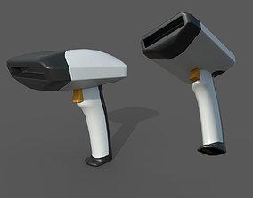 3D model Barcode reader - PBR - lowpoly