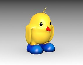 3D model Chick Toon