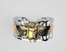 Scarab ring original 3D print model