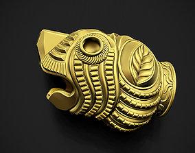 3D printable model Tiger Head Indian Art