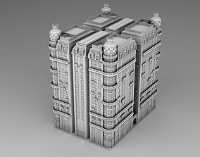 3D print model A house in Chicago style