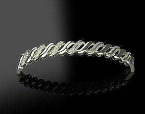 3D print model Fashion Bracelet