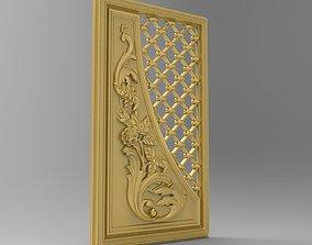 3D asset Wall Panel 3D model STL for CNC router ArtCam 1