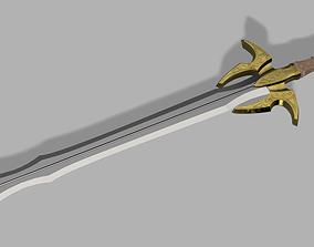 Bifrost Sword - Hofund - Heimdall - 3D printable model