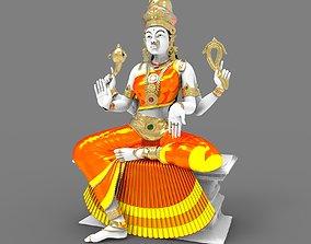 3D god Indian Goddess Idol